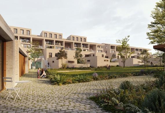 55 logements sociaux, commerces et activités à Arpajon