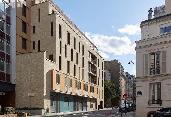 24 logements sociaux BBC & crèche – Paris XV