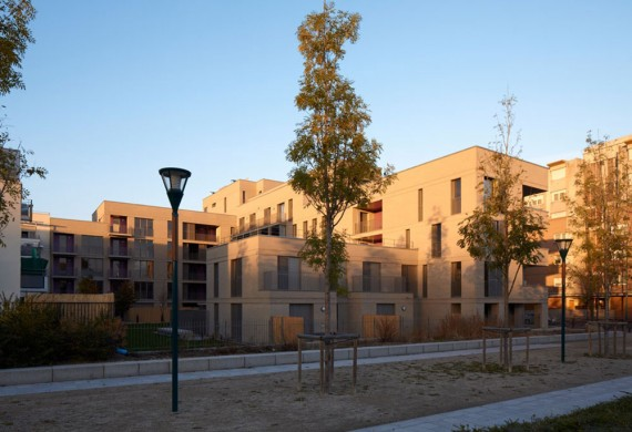 50 logements HQE à Gennevilliers