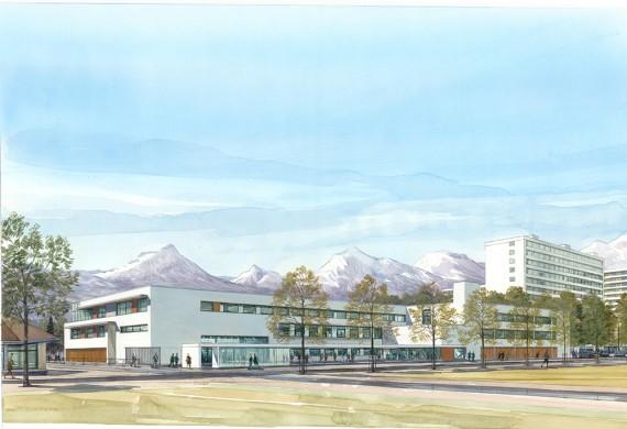 Collège HQE à Grenoble