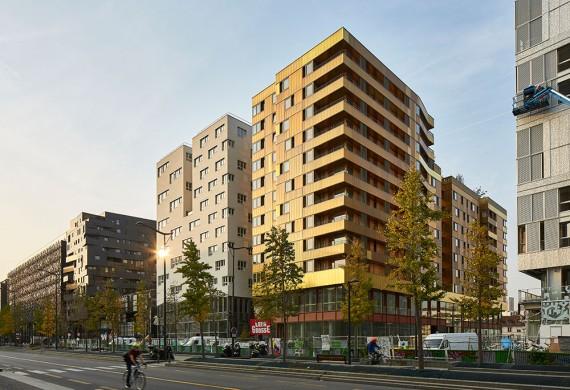 75 logements BBC, Paris Seine Rive Gauche
